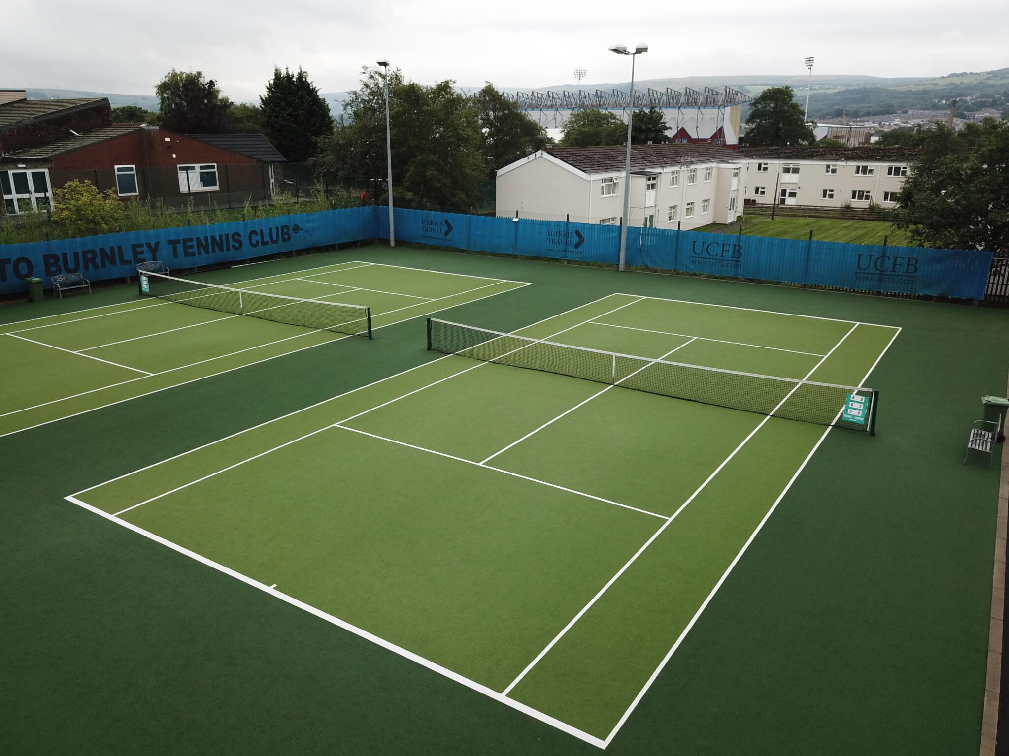 How To Build A Synthetic Grass Tennis Court Tigerturf India