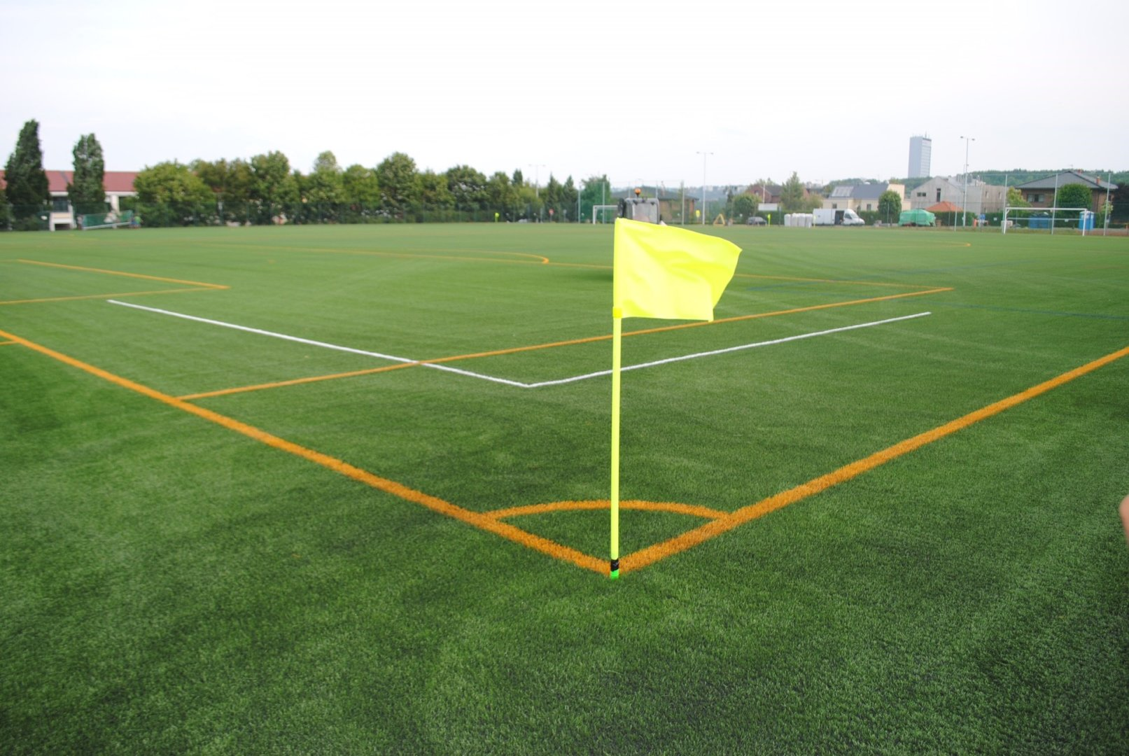 Multi-use Games Areas Yellow Flag