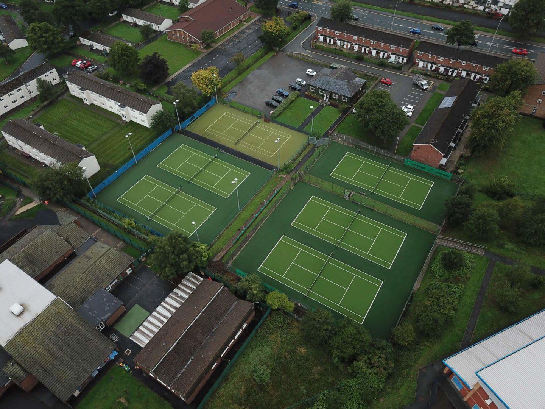 TigerTurf Tennis Turf