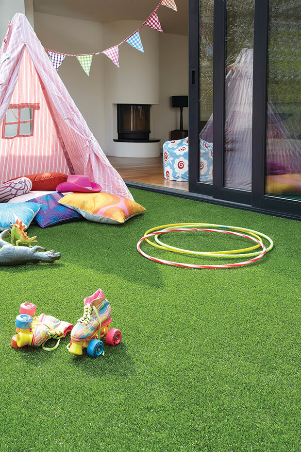 TigerTurf Finesse Deluxe for playground