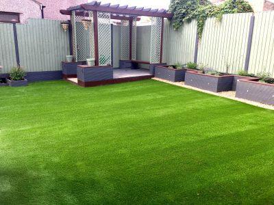 artificial grass gardens